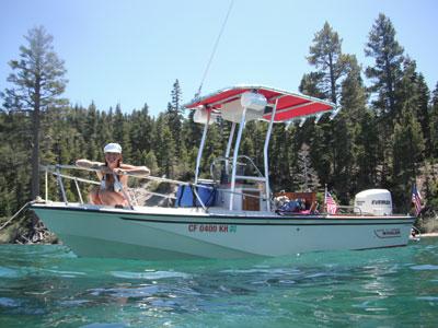Home go sea it charters for Scotts flat lake fishing