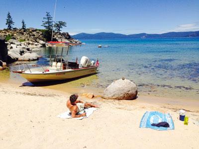 Go Sea It Charters - Lake Tahoe Beach