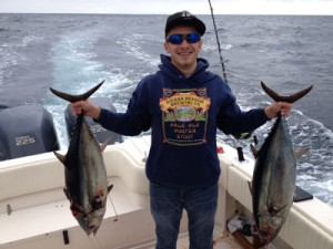 Fishing with Go Sea It Charters