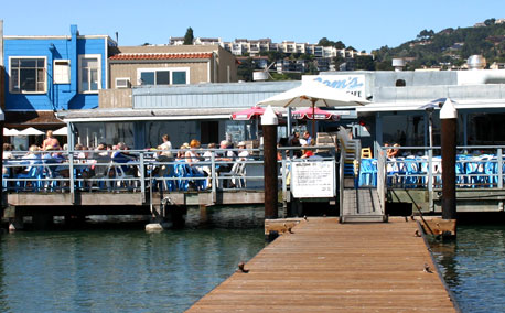 Sam's Anchor Cafe at Tiburon, CA Go Sea It Charters